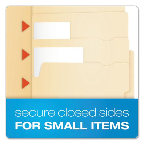Divide It Up File Folders, 1/2-Cut Tabs, Letter Size, Manila, 24/Pack. Picture 5