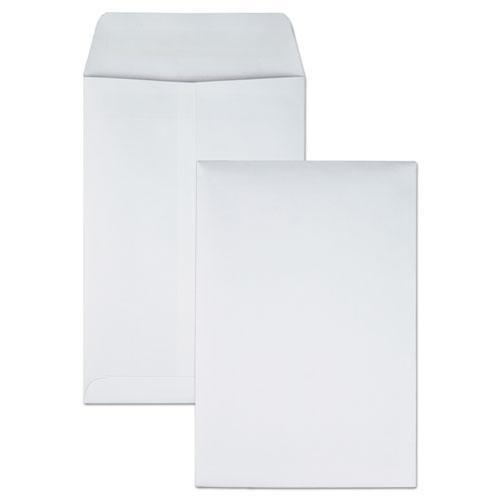 Redi-Seal Catalog Envelope, #1 3/4, Cheese Blade Flap, Redi-Seal Closure, 6.5 x 9.5, White, 100/Box. Picture 1