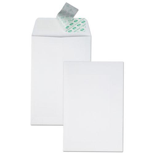 Redi-Strip Catalog Envelope, #1, Cheese Blade Flap, Redi-Strip Closure, 6 x 9, White, 100/Box. Picture 2