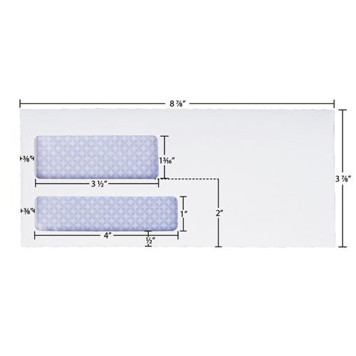 Reveal-N-Seal Envelope, #9, Commercial Flap, Self-Adhesive Closure, 3.88 x 8.88, White, 500/Box. Picture 2