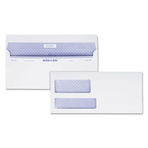 Reveal-N-Seal Envelope, #9, Commercial Flap, Self-Adhesive Closure, 3.88 x 8.88, White, 500/Box. Picture 1
