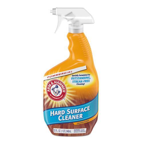 Hard Surface Cleaner, Orange Scent, 32 oz Trigger Spray Bottle. Picture 1
