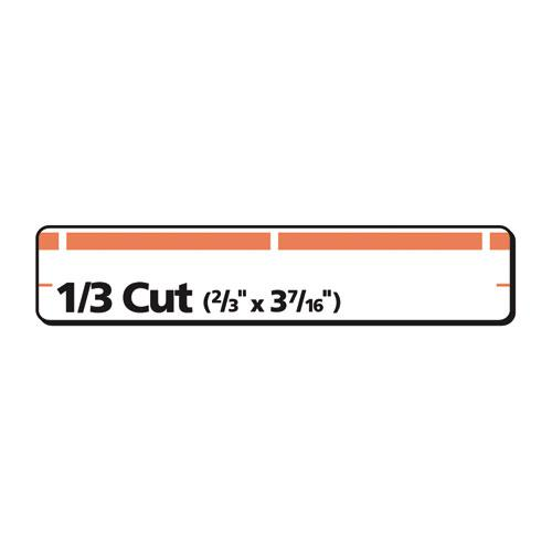 Permanent TrueBlock File Folder Labels with Sure Feed Technology, 0.66 x 3.44, White, 30/Sheet, 25 Sheets/Pack. Picture 4