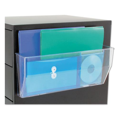 Magnetic DocuPocket Wall File, Legal, 15 x 3 x 6 3/8, Clear. Picture 3