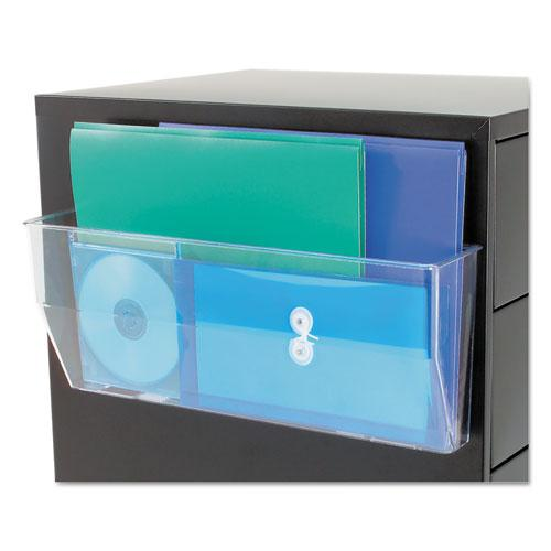 Magnetic DocuPocket Wall File, Legal, 15 x 3 x 6 3/8, Clear. Picture 4