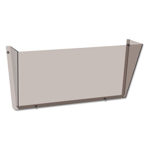 Unbreakable DocuPocket Wall File, Letter, 14 1/2 x 3 x 6 1/2, Smoke. Picture 5