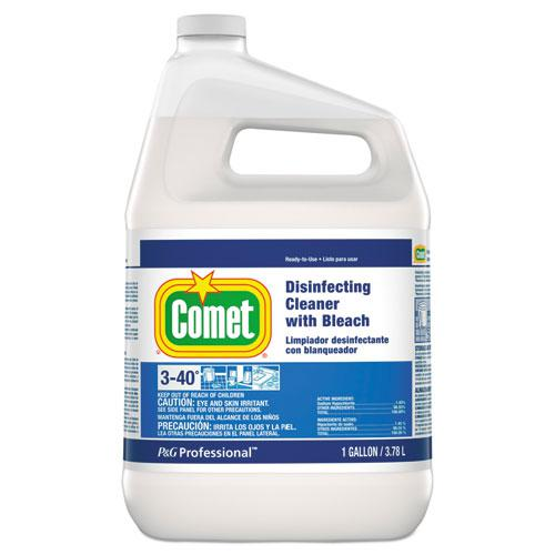 Disinfecting Cleaner with Bleach, 1 gal Bottle. Picture 1