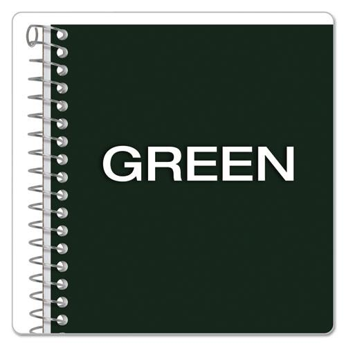 Earthwise by 100% Recycled One-Subject Notebook, 1 Subject, Narrow Rule, Green Cover, 8 x 5, 80 Sheets. Picture 6