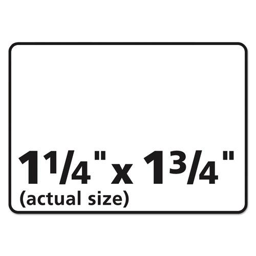 Durable Permanent ID Labels with TrueBlock Technology, Laser Printers, 1.25 x 1.75, White, 32/Sheet, 50 Sheets/Pack. Picture 4