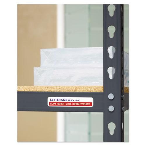 Durable Permanent ID Labels with TrueBlock Technology, Laser Printers, 0.63 x 3, White, 32/Sheet, 50 Sheets/Pack. Picture 4