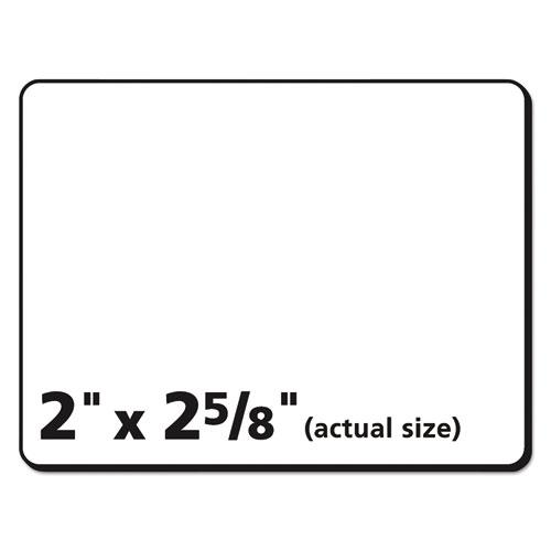 Durable Permanent ID Labels with TrueBlock Technology, Laser Printers, 2 x 2.63, White, 15/Sheet, 50 Sheets/Pack. Picture 6