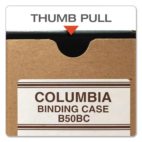 """COLUMBIA Recycled Binding Cases, 2 Rings, 2.5"""" Capacity, 11 x 8.5, Kraft. Picture 2"""