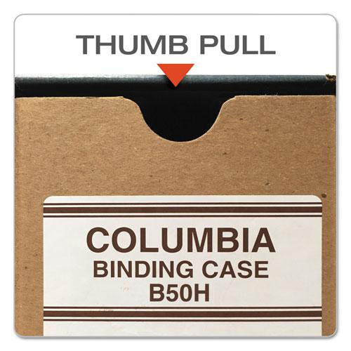 """COLUMBIA Recycled Binding Cases, 2 Rings, 3.13"""" Capacity, 11 x 8.5, Kraft. Picture 2"""