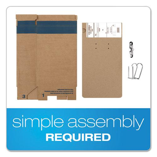 """COLUMBIA Recycled Binding Cases, 2 Rings, 3.13"""" Capacity, 11 x 8.5, Kraft. Picture 7"""