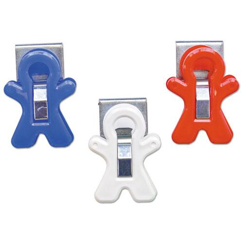 """All American Magnet Man, 0.25"""", Assorted Colors, 3/Pack. Picture 3"""