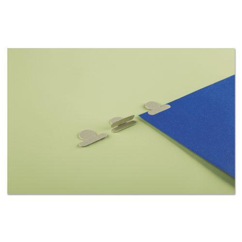 "Gummed Reinforced Index Tabs, 1/12-Cut Tabs, Olive Green, 0.5"" Wide, 25/Pack. Picture 4"
