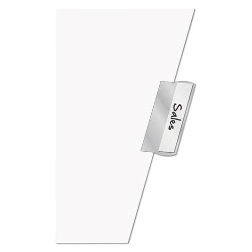 Paper Insertable Dividers, 5-Tab, 11 x 17, White, 1 Set. Picture 3