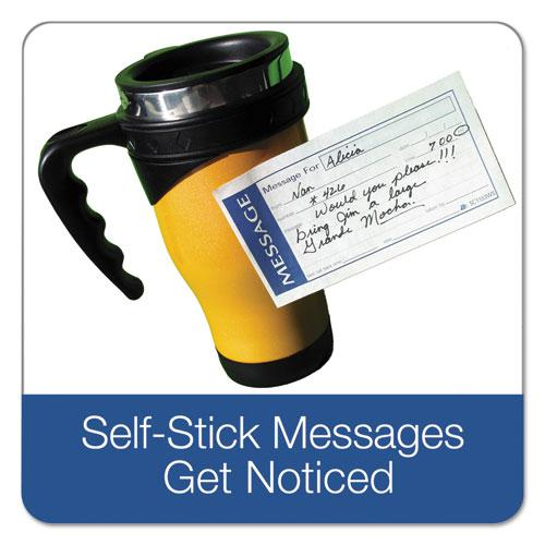 Write 'n Stick Phone Message Pad, 2 3/4 x 4 3/4, Two-Part Carbonless, 200 Forms. Picture 2