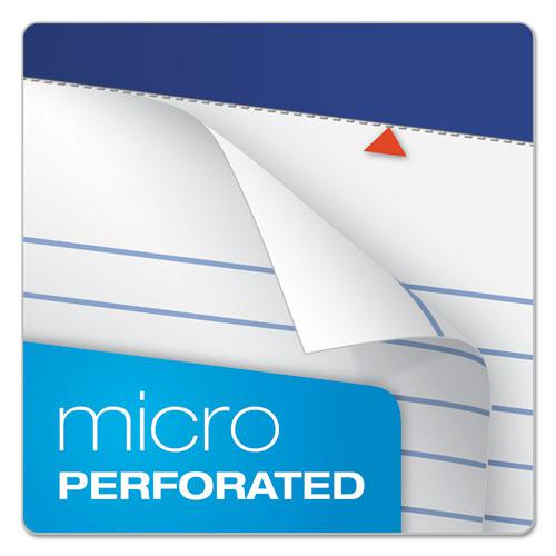 Recycled Writing Pads, Narrow Rule, 5 x 8, White, 50 Sheets, Dozen. Picture 4