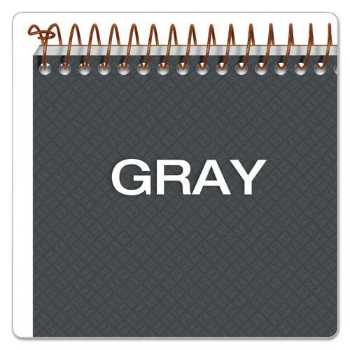 Gold Fibre Steno Books, Gregg Rule, Gray Cover, 6 x 9, 100 White Sheets. Picture 7
