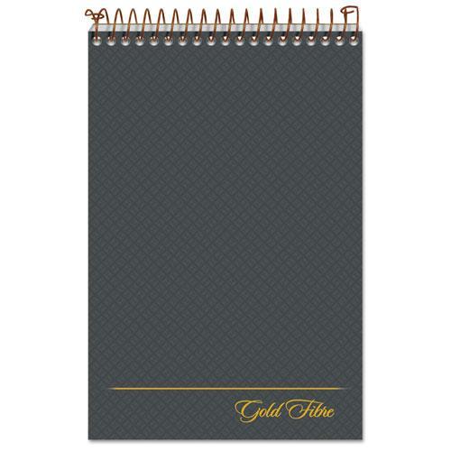 Gold Fibre Steno Books, Gregg Rule, Gray Cover, 6 x 9, 100 White Sheets. Picture 1
