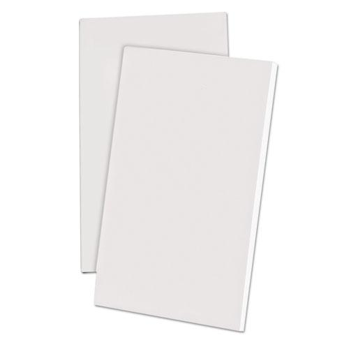 Scratch Pads, Unruled, 3 x 5, White, 100 Sheets, 12/Pack. Picture 1