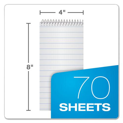 Earthwise by Oxford Reporter's Notebook, Pitman Rule, 4 x 8, White, 70 Sheets. Picture 3