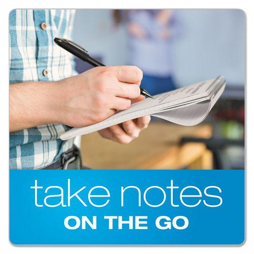 Earthwise by Oxford Reporter's Notebook, Pitman Rule, 4 x 8, White, 70 Sheets. Picture 7