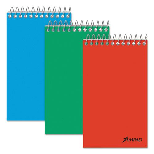 Memo Books, Narrow Rule, 3 x 5, White, 60 Sheets, 3/Pack. Picture 1
