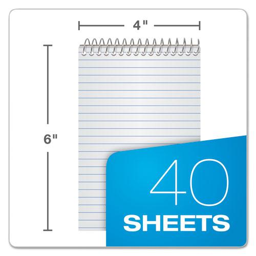 Memo Books, Narrow Rule, 6 x 4, White, 40 Sheets, 3/Pack. Picture 2