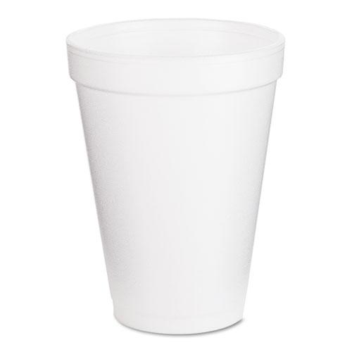 Foam Drink Cups, 12oz, 25/Pack. Picture 1