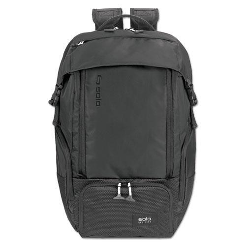 "Elite Backpack, 5.25"" x 21.5"" x 21.5"", Nylon, Black"