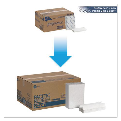 Pacific Blue Select C-Fold Paper Towel, 10 1/10 x 13 2/5,White,200/PK, 12 PK/CT. Picture 5