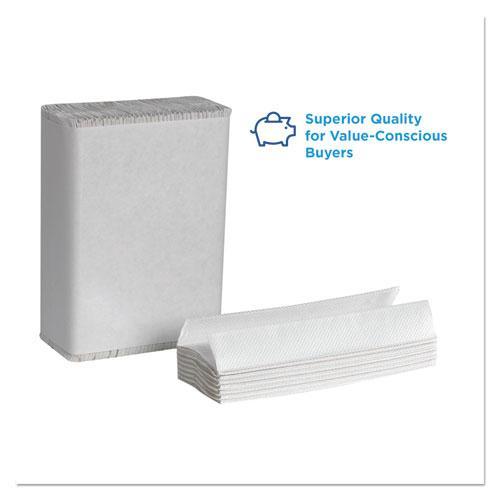 Pacific Blue Select C-Fold Paper Towel, 10 1/10 x 13 2/5,White,200/PK, 12 PK/CT. Picture 4