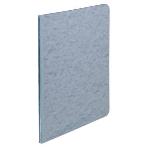 """Pressboard Report Cover, Prong Clip, Letter, 3"""" Capacity, Light Blue. Picture 1"""