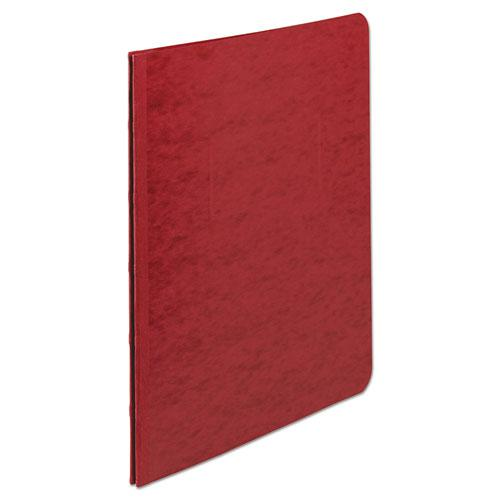 "Presstex Report Cover, Side Bound, Prong Clip, Letter, 3"" Cap, Executive Red. Picture 2"