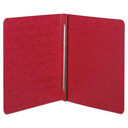 """Pressboard Report Cover, Prong Clip, Letter, 3"""" Capacity, Red. Picture 2"""