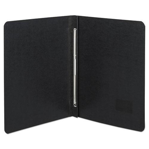 "Presstex Report Cover, Side Bound, Prong Clip, Letter, 3"" Cap, Black. Picture 1"