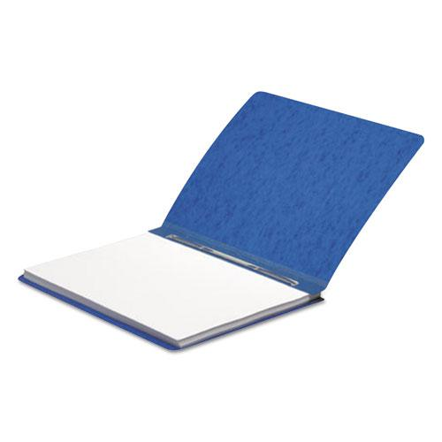 "Presstex Report Cover, Side Bound, Prong Clip, Letter, 3"" Cap, Dark Blue. Picture 4"