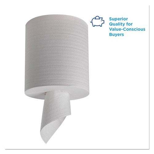 Pacific Blue Select 2-Ply Center-Pull Perf Wipers,8 1/4 x 12, 520/Roll, 6 RL/CT. Picture 3