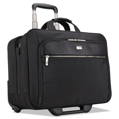 "17"" Checkpoint Friendly Rolling Laptop Case, 17.9"" x 10.6"" x 14.8"", Black. Picture 1"