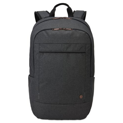"""Era 15.6"""" Laptop Backpack, 9.1"""" x 11"""" x 16.9"""", Gray. Picture 1"""