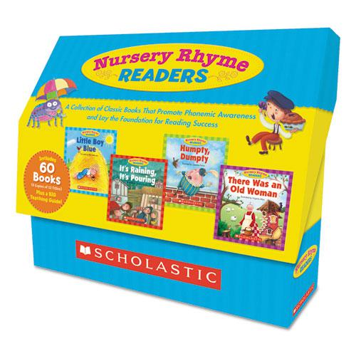 Nursery Rhyme Readers, Phonics; Reading, Grades Pre K-1, 8 Pages/Book. Picture 1