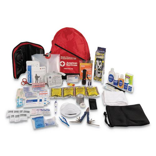 Bulk ANSI 2015 Compliant First Aid Kit, 211 Pieces, Plastic Case. Picture 1