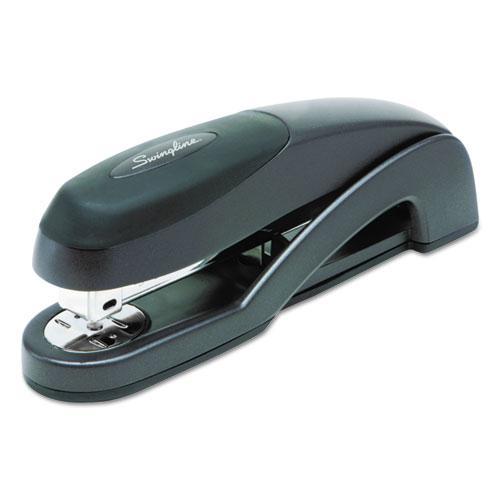 Optima Full Strip Desk Stapler, 25-Sheet Capacity, Graphite Black. Picture 1