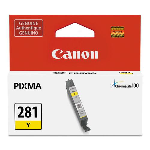 2090C001 (CLI-281) ChromaLife100+ Ink, 259 Page-Yield, Yellow. Picture 1