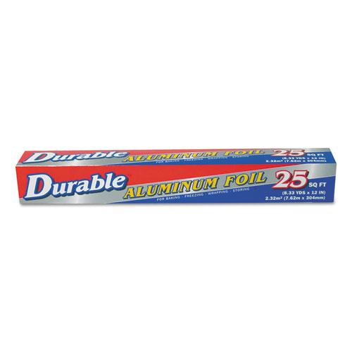 """Standard Aluminum Foil Roll, 12"""" x 25 ft, 35/Carton"""