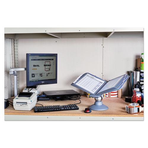 SHERPA Motion Desk Reference System, 10 Panels, Gray Borders. Picture 14