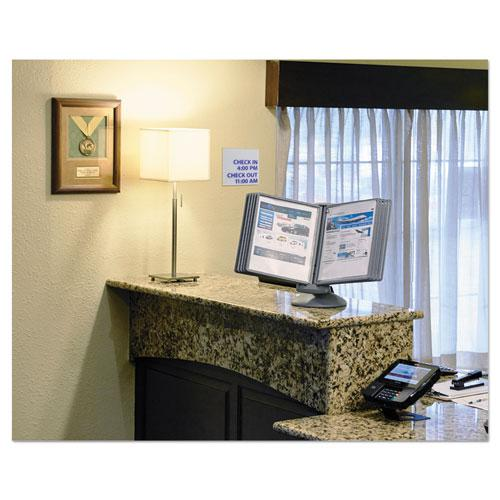 SHERPA Motion Desk Reference System, 10 Panels, Gray Borders. Picture 15