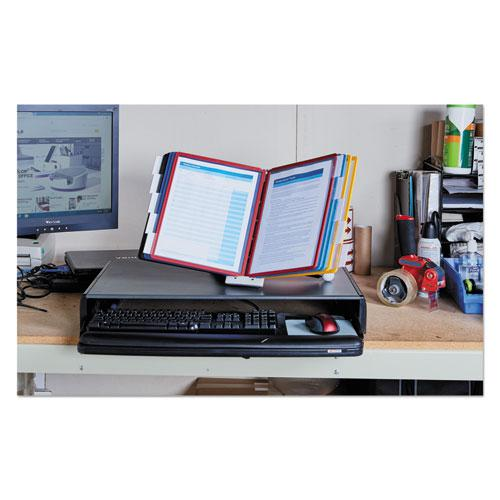 SHERPA Desk Reference System, 10 Panels, 10 x 5 5/8 x 13 7/8, Assorted Borders. Picture 13